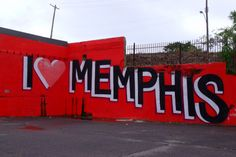 I Love Memphis graffiti