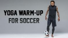 U.S. Men's National Team soccer player Jermaine Jones shows a simple yoga routine that gets players pitch-ready in minutes.