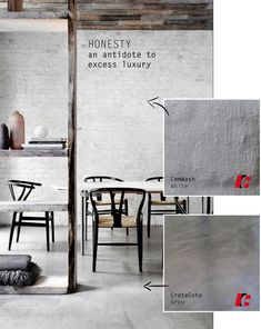 Cemcrete cement finishes fit right into the current Industrial Style trend and here are 4 reasons why Cemcrete loves the Industrial Style - 3 - Honesty an antidote to excess luxury