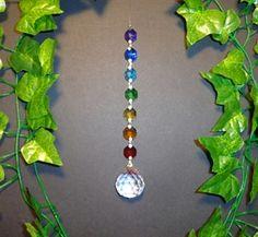 $27.00 rainbow crystal suncatcher.Hippy Clothing   Bongs Australia