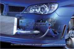 Greddy Subaru WRX / STI 2002-07 13row Oil Cooler Kit