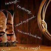 I'm a Cowgirl!!!!!