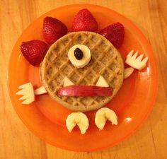 Monster Waffle!