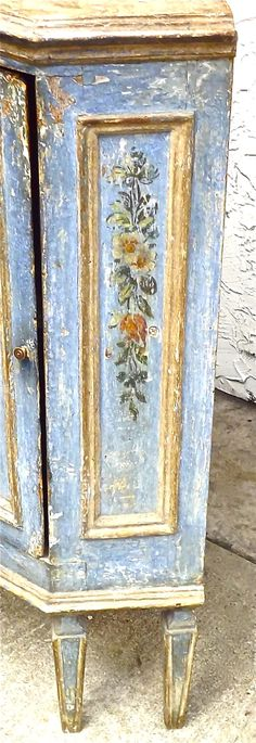 hand painted cabinet - Google Search