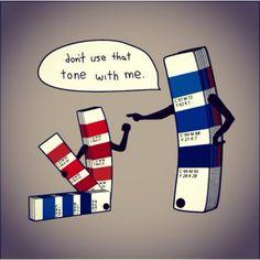 Printing humour
