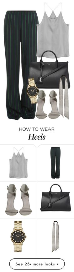 """Untitled #1755"" by erinforde on Polyvore featuring Theory, Yves Saint Laurent, Marc by Marc Jacobs and Rodarte"