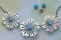 Floral Necklace with Turquoise from James Avery Jewelry #jamesavery