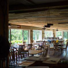Dining room at the Beach Plum Restaurant.