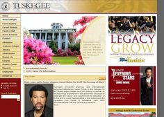 Tuskegee University is a private, historically black university located in Tuskegee, Alabama, USA; established by Booker T. Washington. The campus has been designated as the Tuskegee Institute National Historic Site, a National Historic Landmark. Tuskegee University's campus is the only school in the United States to hold this distinction. Tuskegee University is home to over 3,100 students from the U.S. & 30 foreign countries.