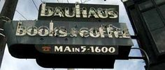 Bauhaus:  Best iced mochas and cozy upstairs seating with a nice view.  Open til 1:00AM.