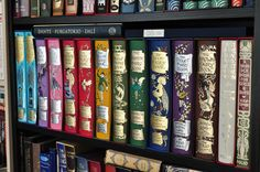 My collection of Andrew Lang's Rainbow Fairy Books published by Folio Society