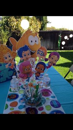 Bubble Guppies Birthday Party Ideas | Photo 3 of 31 | Catch My Party
