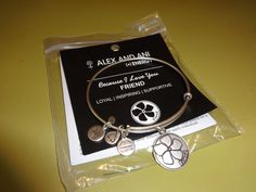 My girlfriend of 45 years sent me this Alex and Ani friendship bracelet today. I couldn't feel more blessed.