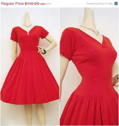 Red Velvet Valentines dress