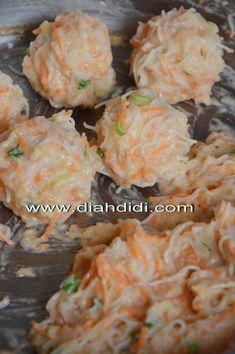 Savory Snacks, Diet Snacks, Kitchen Recipes, Cooking Recipes, Healthy Recipes, Diah Didi Kitchen, Indonesian Cuisine, Brunch, Malaysian Food