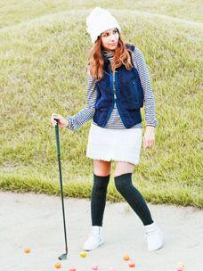 Incredible Stylish Women's Golf Clothing Ideas. Ravishing Stylish Women's Golf Clothing Ideas. Best Golf Club Sets, Best Golf Clubs, Womens Golf Wear, Womens Golf Shoes, Golf Fashion, Fashion Men, Fashion Ideas, New Golf, Golf Accessories