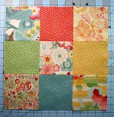 Patch- und Quiltkurs für Anfänger (2) » BERNINA Blog Hexagon Quilt, Hexagons, Nine Patch, Patches, Blog, Quilts, Blanket, Crowns, Watercolor Painting