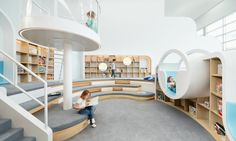 """Designed by PAL Design, NUBO is a beautiful space created to give children the ultimate in """"pure play"""" while managing to keep the space minimal and clean."""