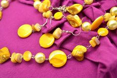 Necklace Yellow 01