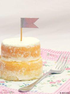 Mini tortitas de vainilla / Miicakes