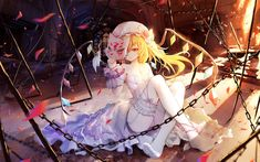 asa ni haru touhou flandre scarlet cleavage dress feet no bra pantsu stockings thighhighs wedding dress wings Touhou Anime, Anime Sisters, Blonde Anime Girl, Music Drawings, White Dresses For Women, Latest Hd Wallpapers, Thick Thighs, Hd Images, Character Illustration