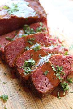 Slow Cooker Smoked Paprika Beef Brisket