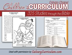 Kids bible study curriculum for our after-dinner family bible time. Hassome great stuff, seems like it would keep their attention. Family Bible Study, Bible Study For Kids, Bible Lessons For Kids, Kids Bible, Children's Bible, Bible Resources, Bible Activities, Colegio Ideas, Christian Kids