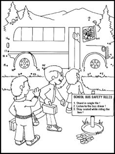 Car Safety Coloring Pages