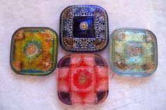 Czech glass buttons on etsy