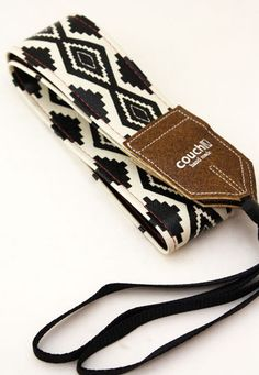 Native American Navajo Style Camera Strap by couchguitarstraps. $34.95 USD, via Etsy.