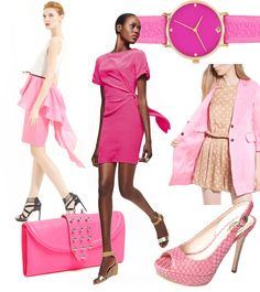 pink is my spring color and i'm lovin it! Salmon/coral too!