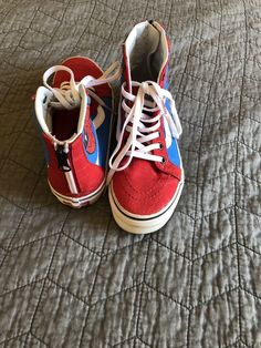 ad413c3255 Vans Off the Wall Boy s High Top Canvas Sk8 Hi Zip Shoes Sz 2  fashion   clothing  shoes  accessories  kidsclothingshoesaccs  boysshoes (ebay link)