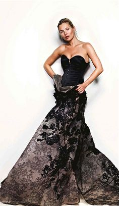 Elie Saab, Kate Moss by Mario Testino, 2013