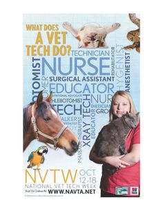 This week is National Veterinary Appreciation Week!!  Visit our blog honoring our team:  http://www.gahvets.com/veterinary-technician-appreciation-week-2014/
