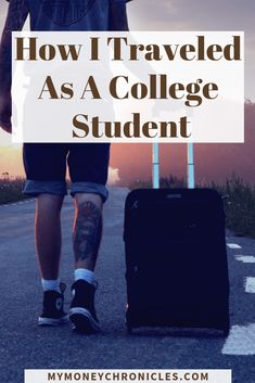 How to Travel as A College Student - My Money Chronicles Travel Articles, Travel Photos, Travel Tips, Travel Destinations, Student Travel, Group Travel, Asia Travel, Travel Usa, Wanderlust Travel