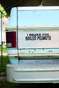 I Brake for Boiled Peanuts The Lowcountry South Carolina Charleston