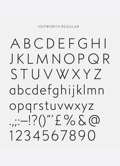 A Practice For Everyday Life has created the identity for The Hepworth Wakefield – the largest purpose built gallery to be built in the UK since which will provide a permanent public legacy for sculptor Barbara Hepworth in her home city of Wakefield. Typography Love, Typography Inspiration, Typography Letters, Graphic Design Typography, Graphic Design Inspiration, Creative Inspiration, Barbara Hepworth, Web Design, Type Design