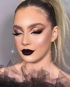 Dope Makeup, Casual Makeup, Eye Makeup Art, Skin Makeup, Makeup Inspo, Cut Crease Makeup, Glamour Makeup, Creative Makeup Looks, Makeup Goals