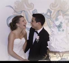 This picture is priceless and the cake is beautiful! Summer Collection IV · Remnant Fellowship Weddings