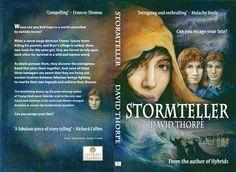 This is the full cover of the book Stormteller! Artist: Elaine Franks