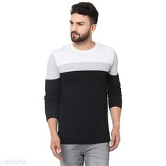 Tshirts Men's Stylish Cotton Striped T-shirts Fabric: Cotton  Sleeves: Sleeves Are Included Size: M L XL (Refer Size Chart) Length: Refer Size Chart Type: Stitched Description: It Has 1 Piece of Men's T-shirt Work: Striped Country of Origin: India Sizes Available: M, L, XL   Catalog Rating: ★4 (491)  Catalog Name: Men's Stylish Cotton Striped T-shirts Vol 6 CatalogID_408634 C70-SC1205 Code: 572-2993739-528