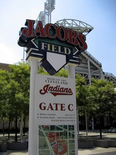 Jacobs Field - Home of the Cleveland Indians