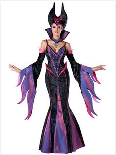 Evil Essence Womens Adult Queen Fairytale Witch Halloween Costume-Std