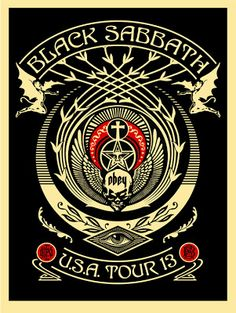 Shepard-Fairey-Black-Sabbath-Red-Black-Crescent-Poster