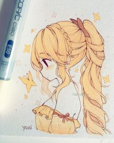 Likes, 178 Comments - Yoai / Anny / Cicishu ( Anime Drawings Sketches, Anime Sketch, Kawaii Drawings, Cute Drawings, Cartoon Drawings, Chibi Sketch, Cute Art Styles, Cartoon Art Styles, Anime Art Girl