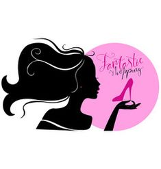 Silhouette of woman with different colored Vector Image