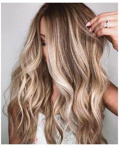 Ombre Hair Color, Hair Color Balayage, Brown Hair Colors, Hair Highlights, Balayage Hairstyle, Dirty Blonde Hair With Highlights, Fringe Hairstyle, Bronde Balayage, Purple Hair