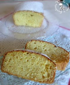 Plumcake con ricotta e miele