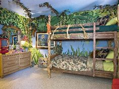 ... jungle in there on Pinterest  Jungle Room, Jungles and Jungle Theme