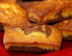 Recette - Mini-marbrés au chocolat comme des savanes   750g